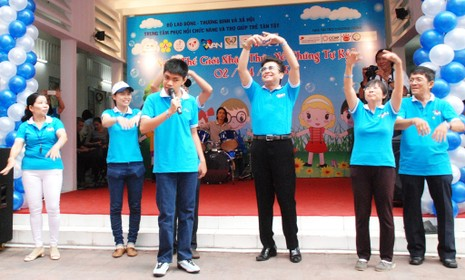 Ấm tình thương trong Ngày Hội của trẻ tự kỷ ở TP.HCM - ảnh 7