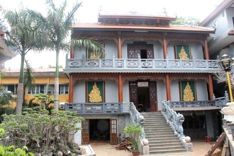 Thăm chùa do Thân Mẫu vua Bảo Đại khởi dựng - ảnh 10