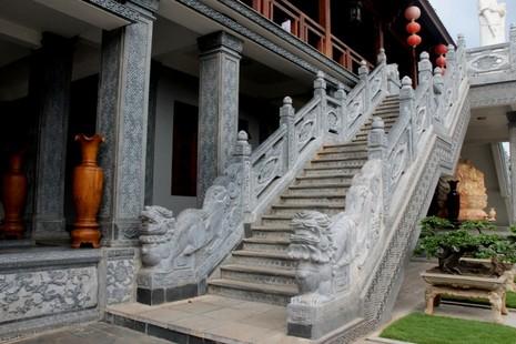 Thăm chùa do Thân Mẫu vua Bảo Đại khởi dựng - ảnh 3
