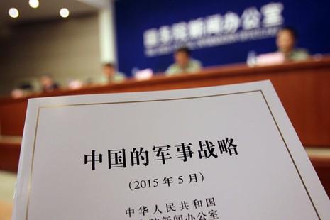 Trung Quốc công bố Sách Trắng đầu tiên về chiến lược quân sự - ảnh 1