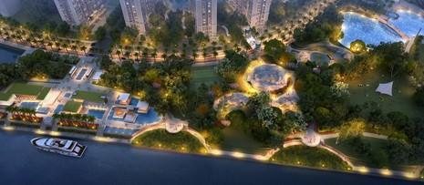 Vingroup đầu tư 500 tỷ xây dựng công viên ven sông - ảnh 1