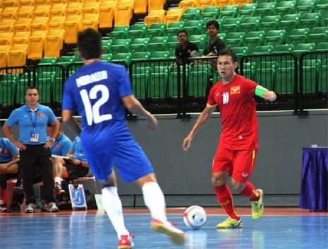 Vòng bảng giải Futsal Đông Nam Á 2015: Việt Nam chưa vượt ngưỡng - ảnh 1