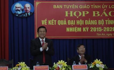 Ông Phạm Văn Rạnh làm bí thư Tỉnh ủy Long An - ảnh 1