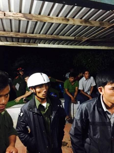 Ninh Thuận thực nghiệm hiện trường vụ án vườn táo - ảnh 2
