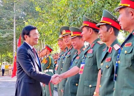 Chủ tịch nước trao huân chương Quân công hạng Nhất cho Quân khu 9 - ảnh 4