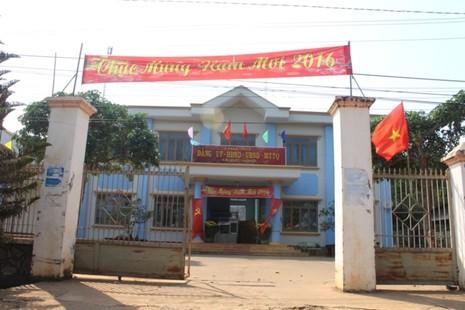 Đắk Nông: Trụ sở xã vắng hơn 'chùa Bà Đanh' sau tết - ảnh 1