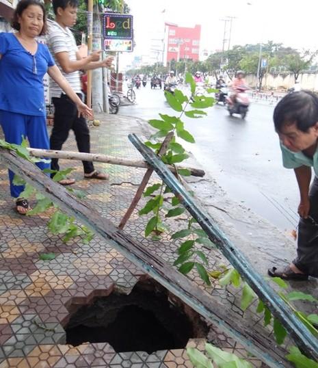 Dùng công nghệ đặc biệt, ngăn lún sụp ở Sài Gòn - ảnh 1
