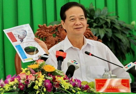 """Thủ tướng Nguyễn Tấn Dũng: """"Nhìn con số để biết trách nhiệm của chúng ta""""  - ảnh 1"""
