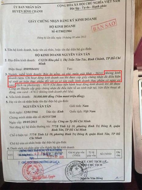 """CATP khẳng định đủ cơ sở khởi tố hình sự chủ quán """"Xin chào"""" - ảnh 2"""