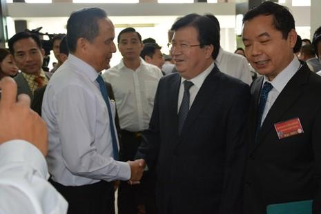 Thủ tướng gặp doanh nghiệp: Các bộ trưởng cam kết quyết liệt cải cách - ảnh 3