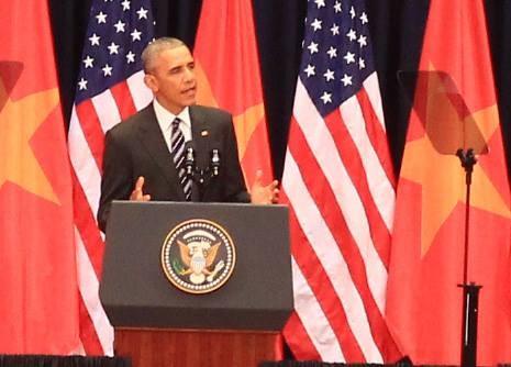 Bài phát biểu gây xúc động đặc biệt của Tổng thống Obama - ảnh 2