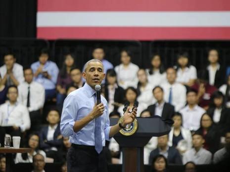 Những điều Tổng thống Obama nhắn gửi giới trẻ Việt Nam - ảnh 1