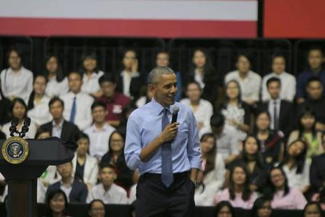 Những điều Tổng thống Obama nhắn gửi giới trẻ Việt Nam - ảnh 3