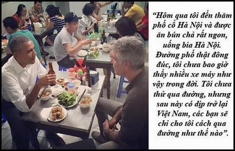 """Dấu ấn Obama qua những câu nói """"để đời"""" tại Việt Nam - ảnh 11"""