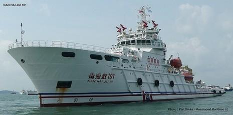 Ba tàu của Trung Quốc tham gia tìm kiếm CASA 212 - ảnh 1