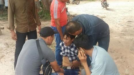Bắt kẻ sát hại 'vợ hờ', trốn sang Campuchia bảo kê sòng bạc - ảnh 1