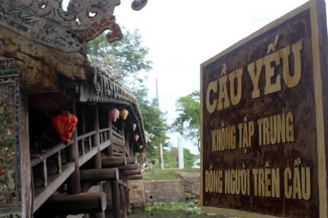 Cận cảnh cây cầu quý xứ Huế trước ngày trùng tu - ảnh 3