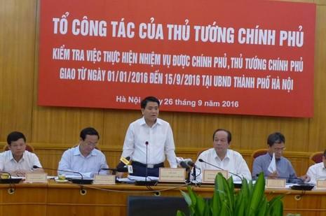 Chủ tịch Hà Nội giải trình việc cắt tỉa cây xanh - ảnh 1