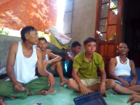 Vụ chìm tàu ở Quảng Trị qua lời kể người cứu hộ - ảnh 1