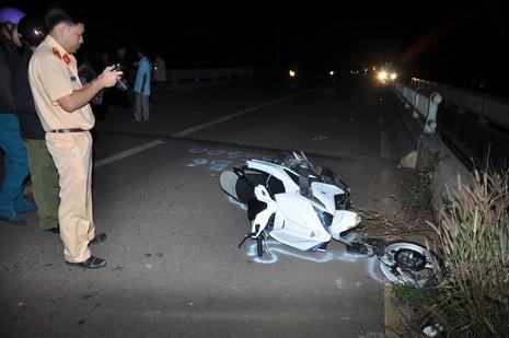 Tai nạn thương tâm trên cầu Gia Oét - ảnh 1