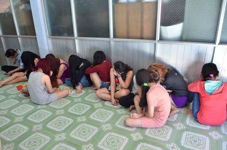 Bán dâm trong một cơ sở massage ở Phan Thiết - ảnh 1