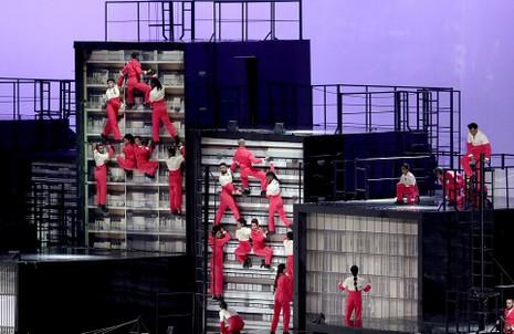 Chùm ảnh: Lễ khai mạc Olympic Rio diễn ra hoành tráng - ảnh 6