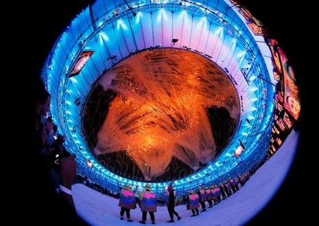 Chùm ảnh: Lễ khai mạc Olympic Rio diễn ra hoành tráng - ảnh 3