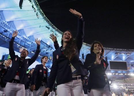 Chùm ảnh: Lễ khai mạc Olympic Rio diễn ra hoành tráng - ảnh 22