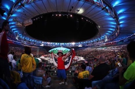 Chùm ảnh: Lễ khai mạc Olympic Rio diễn ra hoành tráng - ảnh 11