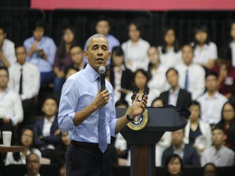 Tư tưởng Phan Châu Trinh từng được Tổng thống Obama nhắc tới như đại diện của tri thức Việt Nam trong bài phát biểu tại Hà Nội - Ảnh: Quỳnh Trang