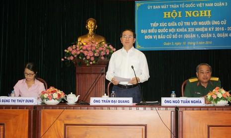 Chủ tịch nước Trần Đại Quang: Không dễ lôi những kẻ tham nhũng ra ánh sáng  - ảnh 1