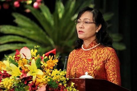 Chủ tịch HĐND TP.HCM Nguyễn Thị Quyết Tâm