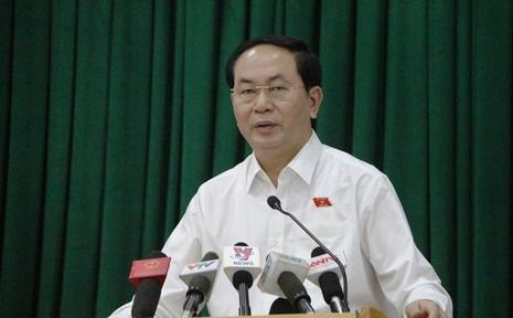 Chủ tịch nước Trần Đại Quang nói về sự cố an ninh mạng - ảnh 1