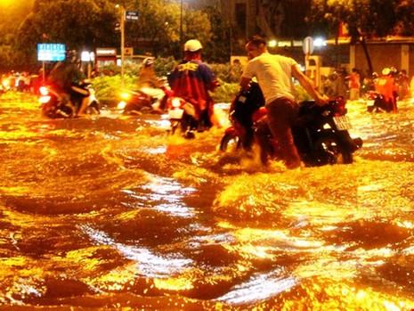 Chủ tịch Nguyễn Thành Phong nói gì về trận ngập nặng? - ảnh 1