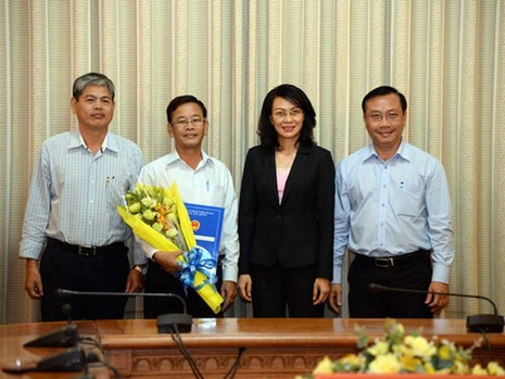 TP.HCM bổ nhiệm nhiều nhân sự mới - ảnh 1