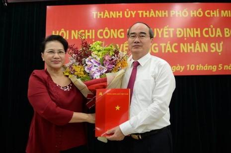 Ông Nguyễn Thiện Nhân làm Bí thư Thành ủy TP.HCM - ảnh 1