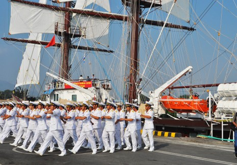 Hải quân Việt Nam đưa tàu buồm hiện đại bậc nhất thế giới vào sử dụng - ảnh 5