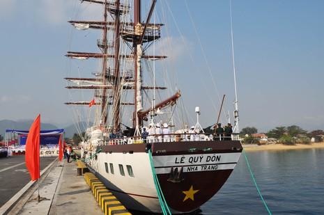 Hải quân Việt Nam đưa tàu buồm hiện đại bậc nhất thế giới vào sử dụng - ảnh 6