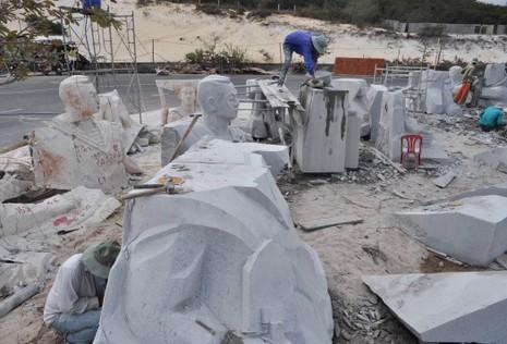 Tượng đài Gạc Ma: 'Những người nằm lại phía chân trời' - ảnh 6