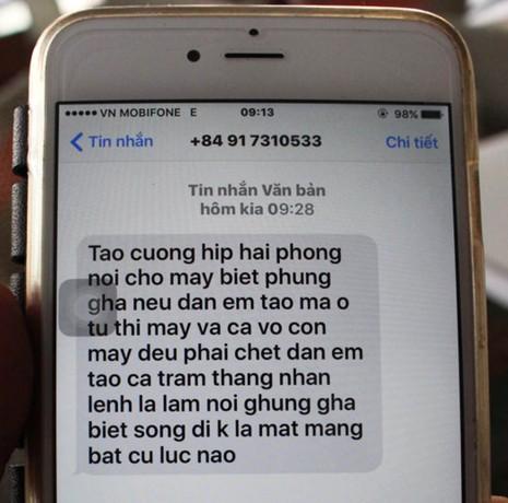 Chủ nhà hàng bị truy sát liên tục nhận tin nhắn dọa giết - ảnh 1