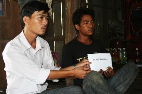 100 triệu đồng trợ giúp 2 gia đình có con bị chết đuối - ảnh 2