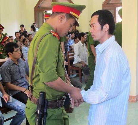 Nguyễn Thân Thảo Thành, bị cáo duy nhất trong vụ công an ở Phú Yên đánh chết nghi can - đang bị tạm giam