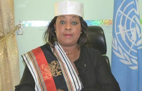 Vì sao chủ tịch FIFA 'phải lòng' Fatma Samoura? - ảnh 2