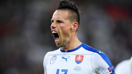 Trước trận Slovakia - Anh: Coi chừng 'sói ca' Marek Hamsik  - ảnh 1