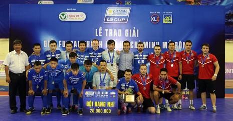 Thái Sơn Bắc vô địch giải futsal TP.HCM mở rộng - ảnh 2