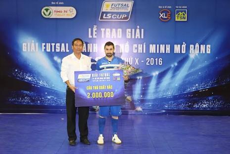 Thái Sơn Bắc vô địch giải futsal TP.HCM mở rộng - ảnh 3
