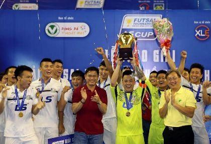 Thái Sơn Bắc vô địch giải futsal TP.HCM mở rộng - ảnh 1