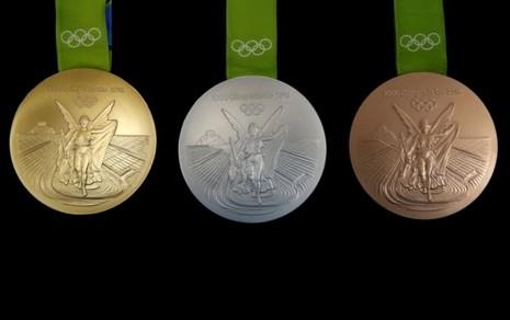 Ý nghĩa và chất liệu của những tấm huy chương Olympic Rio - ảnh 1