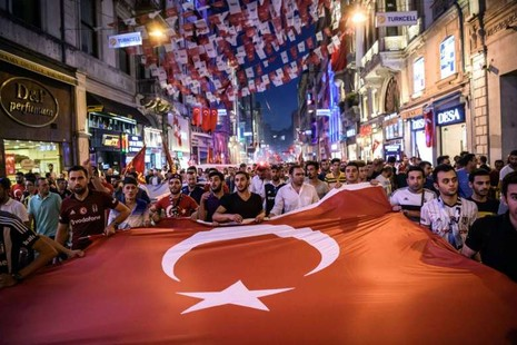 Bóng đá Thổ Nhĩ Kỳ… đứng hình vì đảo chính - ảnh 1