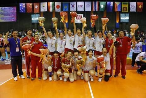 Đội  U-19 Trung Quốc vô địch